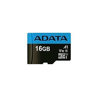 Adata flashgeheugen: 16GB, microSDHC, Class 10 - Zwart, Blauw