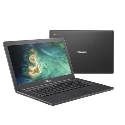"ASUS Chromebook C403NA-FQ0010 14"" Celeron 4GB RAM 32GB eMMC Laptop - Grijs"