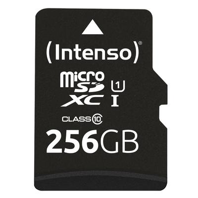 Intenso microSD Karte UHS-I Premium Flashgeheugen - Zwart