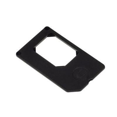 Hama SIM/flash memory card adapter: Nano-/SIM-Adapter - Zwart