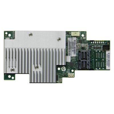 Intel Tri-mode PCIe/SAS/SATA Full-Featured RAID Mezzanine Module, 8 internal ports Raid controller