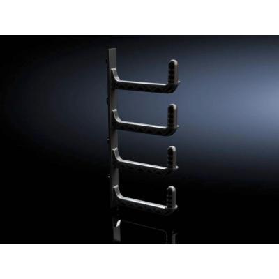 Rittal rack toebehoren: 6 HE, Kunststof, Zwart, 920 g