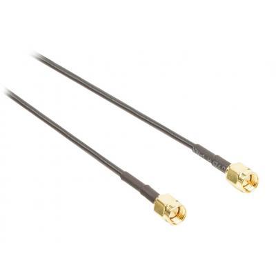 Valueline coax kabel: SMA antenna cable SMA male - SMA male 1.00 m black - Zwart