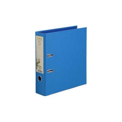 Exacompta ringband: Ordner met hefboommechanisme harde kaft papier Rug 80mm Forever - A4 maxi - Blauw