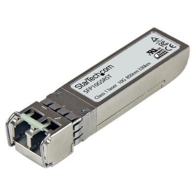 Startech.com netwerk tranceiver module: Cisco-compatibel 10GBase-SR SFP+ glasvezelzendontvangermodule 850 nm MM LC met .....