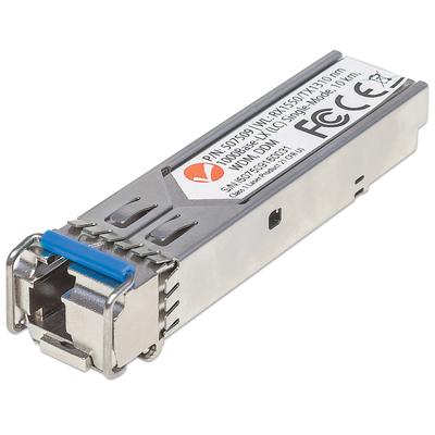 Intellinet Gigabit Fibre WDM Bi-Directional SFP Optical Transceiver Module, 1000Base-Lx (LC) Single-Mode .....