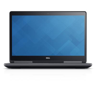 DELL laptop: Precision M7720 - Zwart