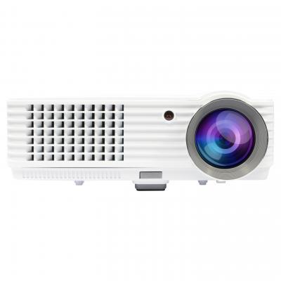 Salora beamer: Een full size LED beamer met ingebouwde TV tuner en voorzien van 2000 ansi lumen - Wit