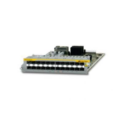 Allied telesis netwerk switch module: 24-Port 100/1000X SFP Ethernet Line Card, f / SwitchBlade x8100 Series