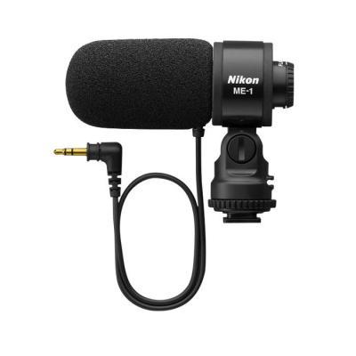 Nikon microfoon: ME-1 - Zwart