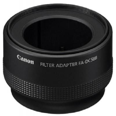 Canon lens adapter: FA-DC58B - Zwart