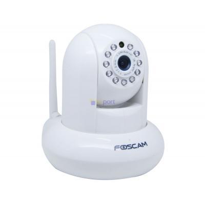 Foscam beveiligingscamera: FI9821EP 1MP Pan-tilt IP Camera - Wit