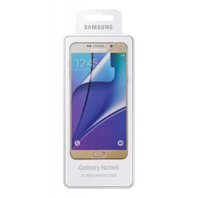 Samsung screen protector: Screen Protector for Galaxy Note5 - Transparant