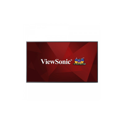 Viewsonic CDE5510 Public display - Zwart