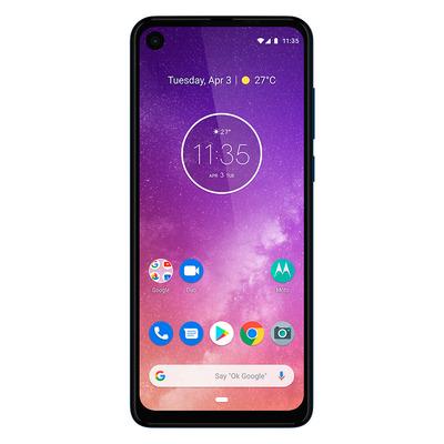 Motorola one vision Smartphone - Blauw 128GB