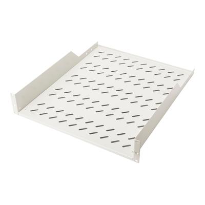 Digitus 2U fixed shelf for racks from 800 mm depth 88x482x549 mm, up to 25 kg, grey (RAL 7035) Rack toebehoren - .....