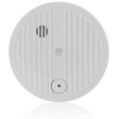 Chuango rookmelder: Smoke Detector, 315MHz, 85dB/3m, 20㎡, DC 9V - Wit