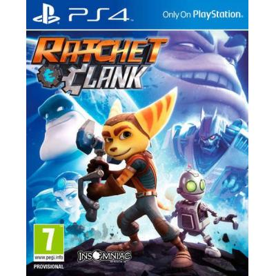 Sony game: Ratchet & Clank, PS4