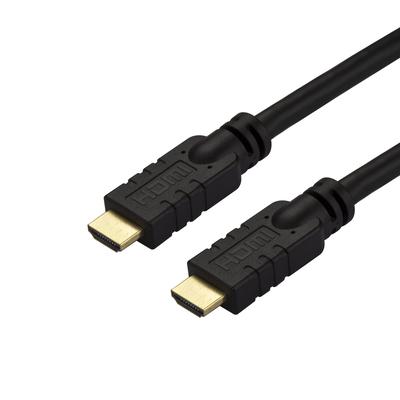StarTech.com 10m CL2 High Speed actief 4K 60Hz 4K actieve met Ethernet HDMI kabel - Zwart