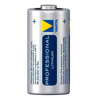 Varta batterij: -CR123A-2 - Blauw, Zilver