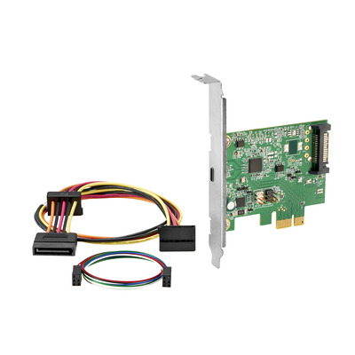 Hp interfaceadapter: SuperSpeed USB 3.1 Gen 2 PCIe x1-kaart