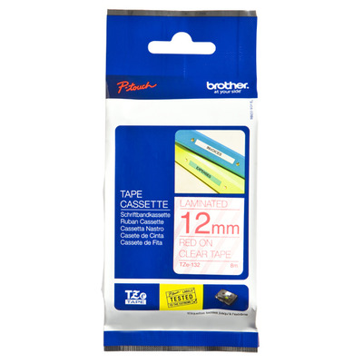 Brother Tape gelamineerd 12mm Labelprinter tape
