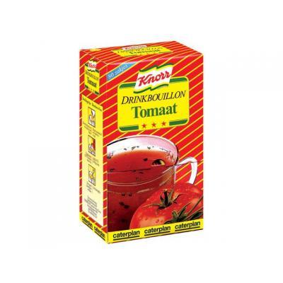 Knorr voedingswaar: Drinkbouillon tomaat/pk 80