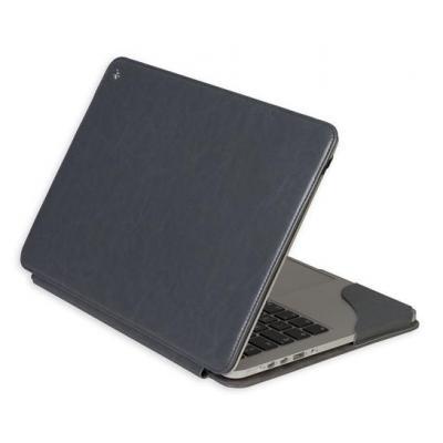 Gecko laptoptas: - Deluxe Stand-Case voor Apple MacBook Pro Retina 13 inch (Grijs)