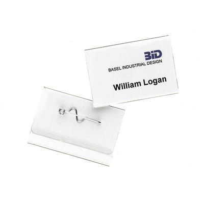 Durable 8100 Badge - Transparant