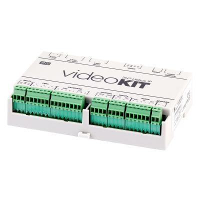 2n telecommunications intercom system accessoire: LAN x 2, 10/100BASE-TX, PoE - Groen, Wit