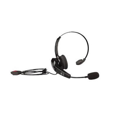 Zebra HS2100 Rugged (Over The Head) Headset - Zwart