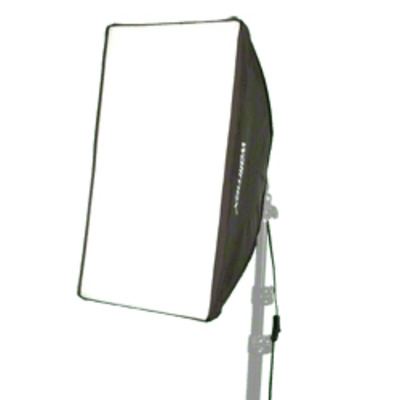 Walimex softbox: Daylight-Set 250 with Softbox - Zwart, Wit
