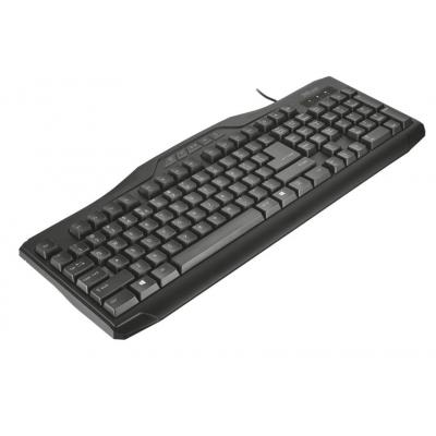 Trust toetsenbord: Classicline - Zwart