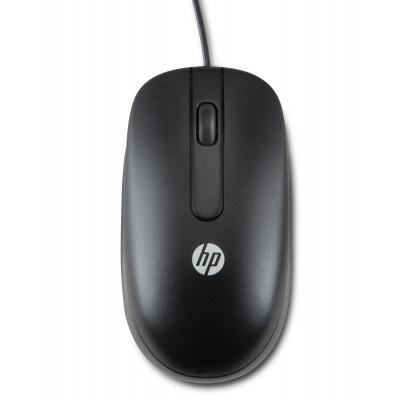 HP USB optische scroll-muis Computermuis - Zwart - Open Box