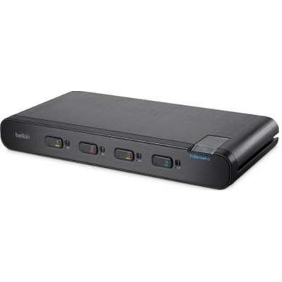 Linksys F1DN104P-3 KVM switch - Zwart