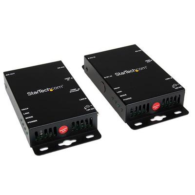 StarTech.com HDMI over CAT5 HDBase T Verlenger RS232 IR Ultra HD 4K 100m AV extender - Zwart