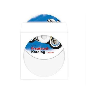Herma : CD-hoesjes van papier wit met zelfklevend 124x124 mm 1000 St.