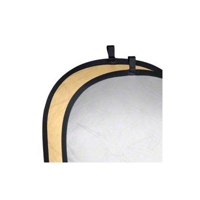 Walimex fotostudioreflector: Foldable Reflector golden/silver, 91x122cm - Goud, Zilver