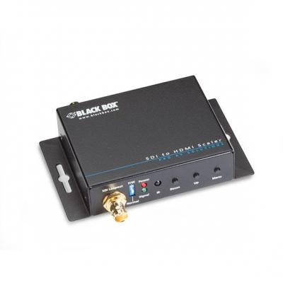 Black Box SDI to HDMI Scaler with Audio Video converter - Zwart