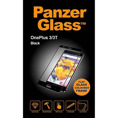 PanzerGlass OnePlus 3/3T Edge-to-Edge Screen protector - Transparant