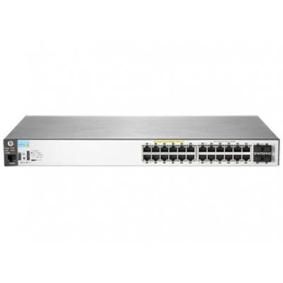 Hewlett Packard Enterprise Aruba 2530 24G PoE+ Switch - Zwart