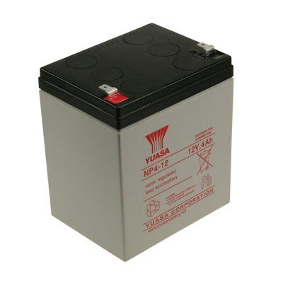 2-Power NP4-12 UPS batterij - Zwart,Grijs