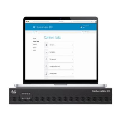 Cisco Business Edition 4000 teleconferentie apparatuur