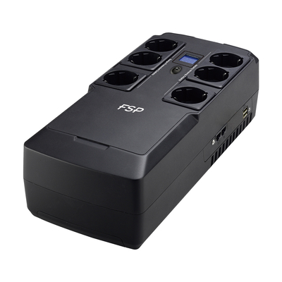 FSP/Fortron NanoFit 600 UPS - Zwart