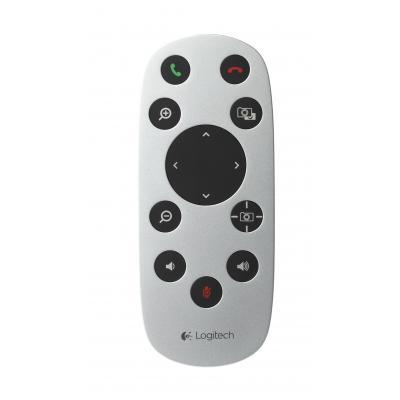 Logitech afstandsbediening: f / CC3000e, White - Wit