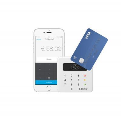 Sumup smart kaart lezer: Air contactloze kaartlezer - Wit