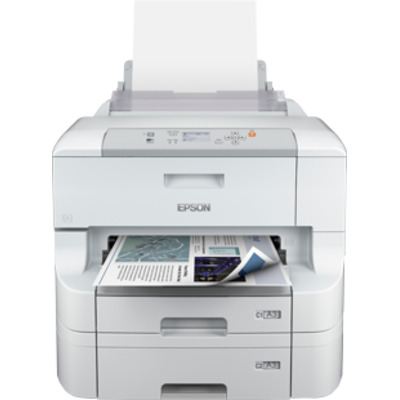 Epson WorkForce Pro WF-8090 DTW Inkjet printer - Zwart, Cyaan, Magenta, Geel