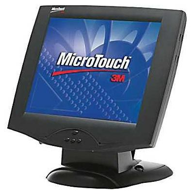 "3m touchscreen monitor: MicroTouch Display M1700SS (17"") - Zwart"
