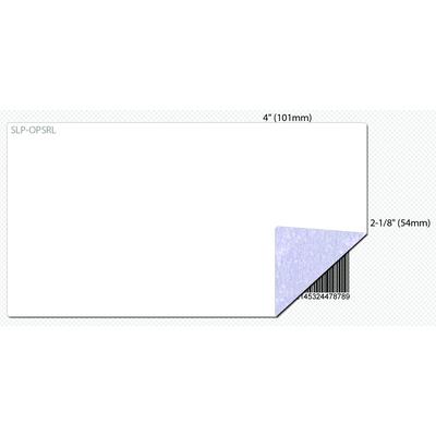 Seiko SLP-OPSRL Etiket - Blauw, Wit