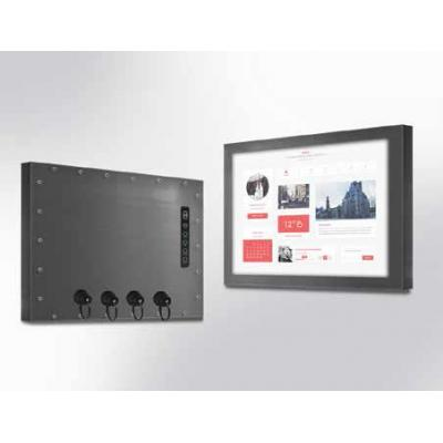 "Winsonic IP67 Chassis, 38.1 cm (15"") LCD monitor, 1024 x 768, LED 250 nits, VGA input Public display - Zwart"